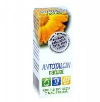 Antotalgin Natural, krople, do uszu, 15 g