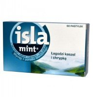 Isla-Mint, pastylki do ssania, 60 szt
