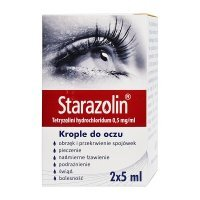 Starazolin, (0,5 mg/ml) krople do oczu, 2 x 5 ml
