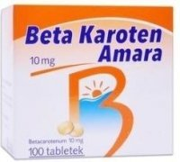 Beta Karoten Chance, 10 mg, tabl.,100 szt