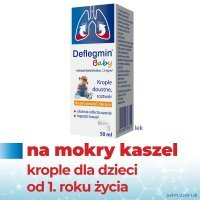 Deflegmin Baby, (7,5 mg/ml) krople doustne, 50 ml