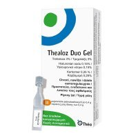 Thealoz Duo Gel, żel płynny do oka, 0,4 g x 30 mnimsów